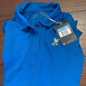 Women's Nike Golf Shirt - Winged Foot branded